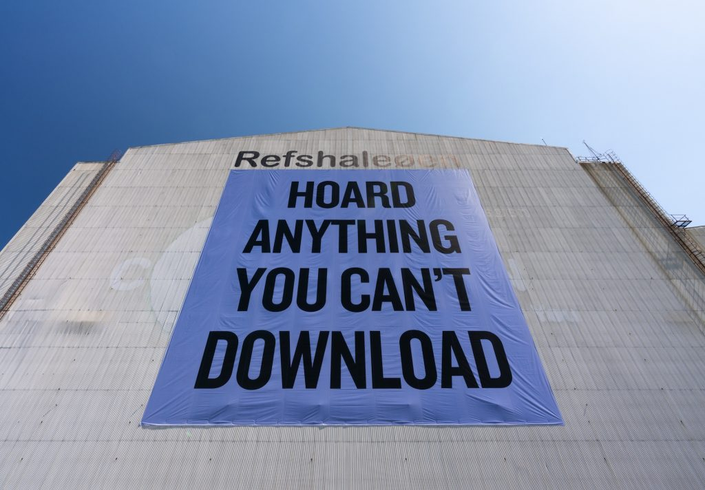 Douglas Coupland: Hoard Anything You Can't Download
