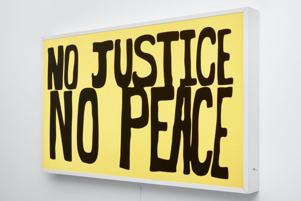 Sam Durant: No Justice No Peace, 2017. Foto: Robert Gloacki