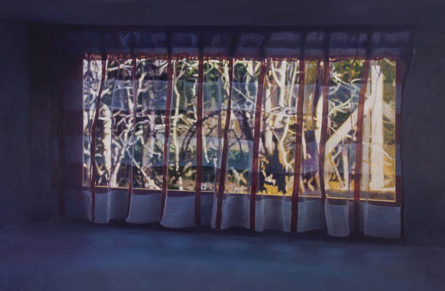 Maleri af Anette Harboe Flensburg, 190x275. Foto: Henrik Petit