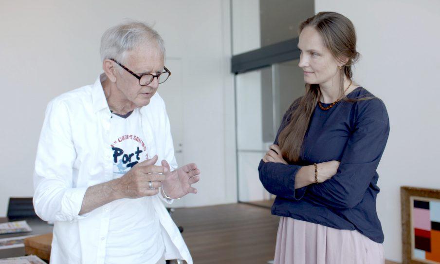 """Tidligere ARoS-direktør springer ud som kunstner: """"Jeg vil forny modernismen"""""""