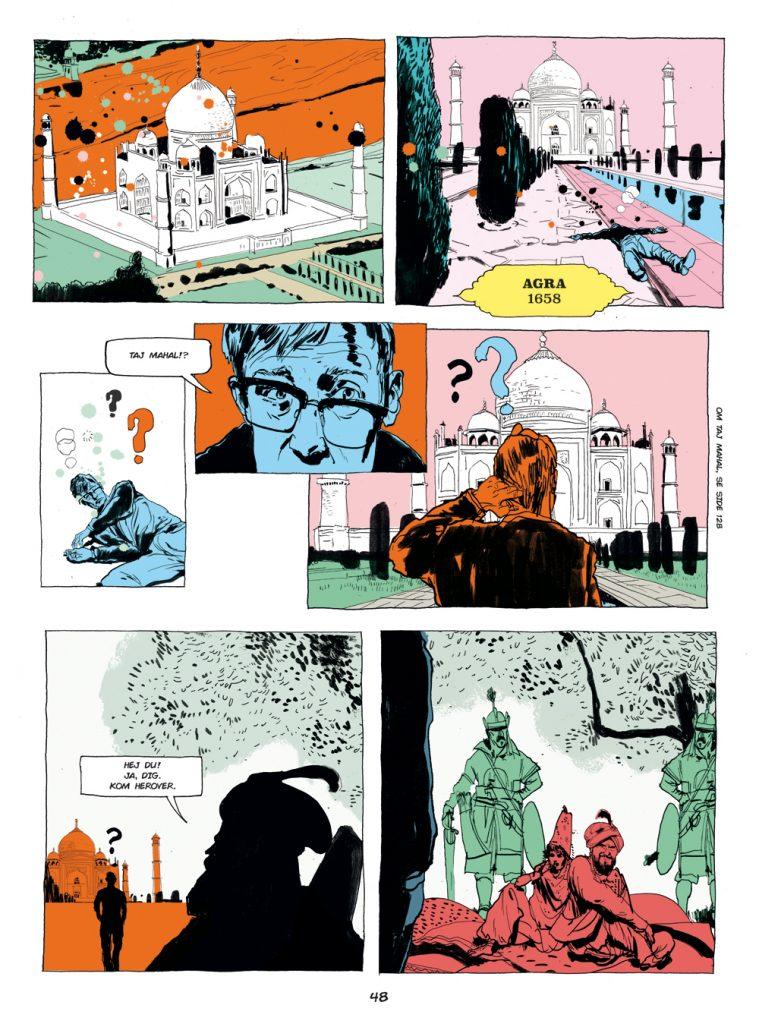 Fra Den Magiske Spinel, forfatter Peter Wandel, illustrator Rasmus Meisler.