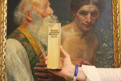 Tre museer vinder Kulturprisen ved årets Danish Rainbow Awards
