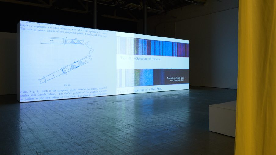 Nanna Debois Buhl, Stellar Spectra, udstilling på Fotografisk Center, 2020. Foto- Troels Jeppe