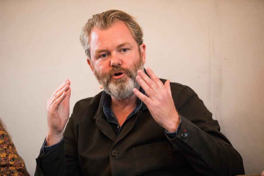 Michael Thouber modtager Artbeat Prisen
