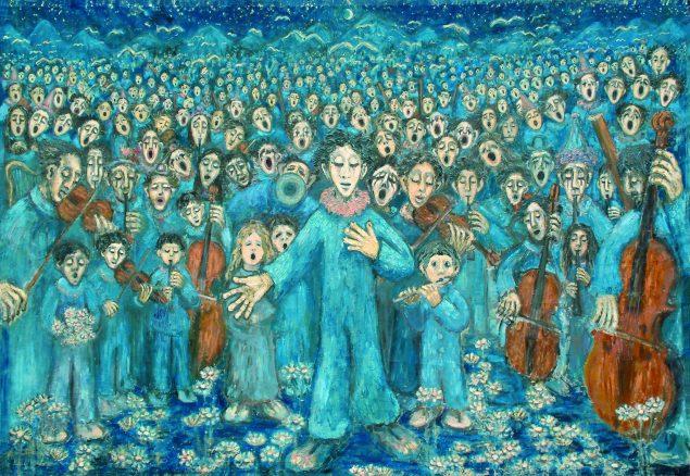 Marie Heiberg Händels: Messias. Foto Museum Ovartaci.