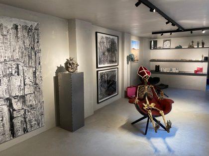 Marco Evaristti åbner galleri med sin datter