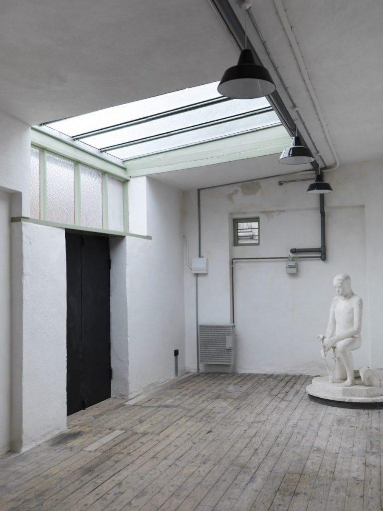 Astrid Noacks Atelier interiør. Foto: Laura Stamer.