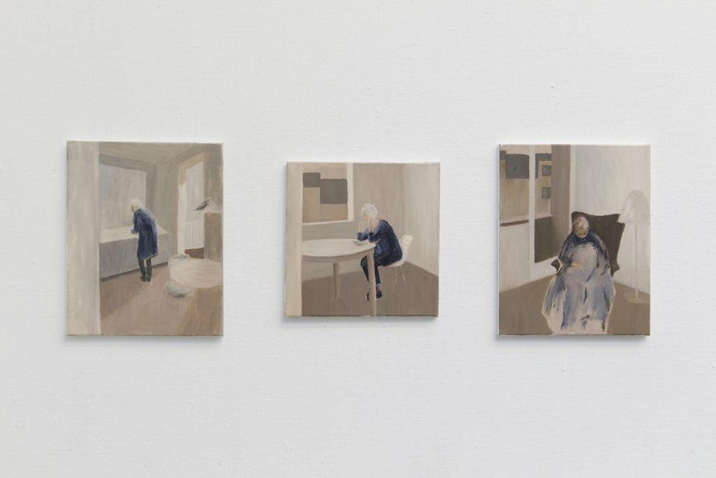 Lis Kjærgaard. Stille liv 1, Stille liv 3, Stille liv 4. Foto: I DO ART Agency.