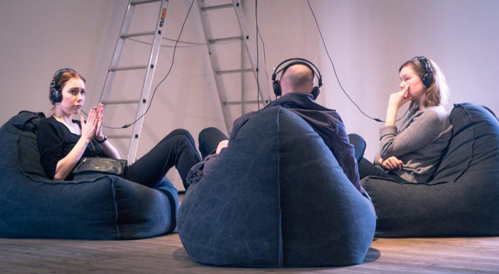 Kunstpionererne i Rundetaarns udstillingssal. Foto: Jonathan Nothlev.