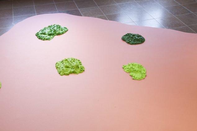 Hannah Toticki Anbert: Digital Islands, 2020. Foto: Kevin Malcolm.