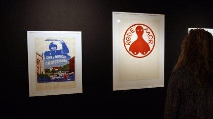Britta Tøndborg om Kunstnerkollektivet RØDE MOR – en udstilling du ikke kan opleve