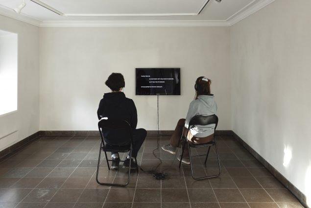 Selini Halvadaki: Voice Over I (video), 2021. Foto: Kevin Malcolm.