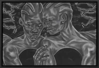 Toyin Ojih Odutola tegner en fortid, hvor kvinderne styrer