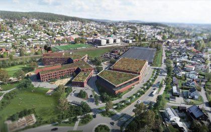 Open Call: Fjellhamar skole og idrettsbygg i Norge