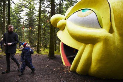 Deep Forest Art Land firedobler sit besøgstal under corona-krisen