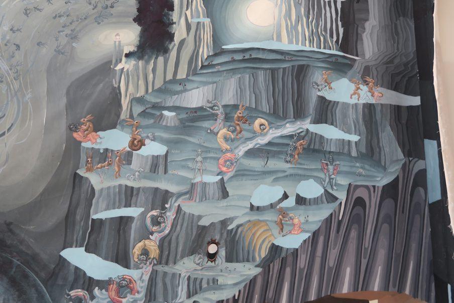 Fire danske kunstnere laver gobelinudsmykning til Koldinghus