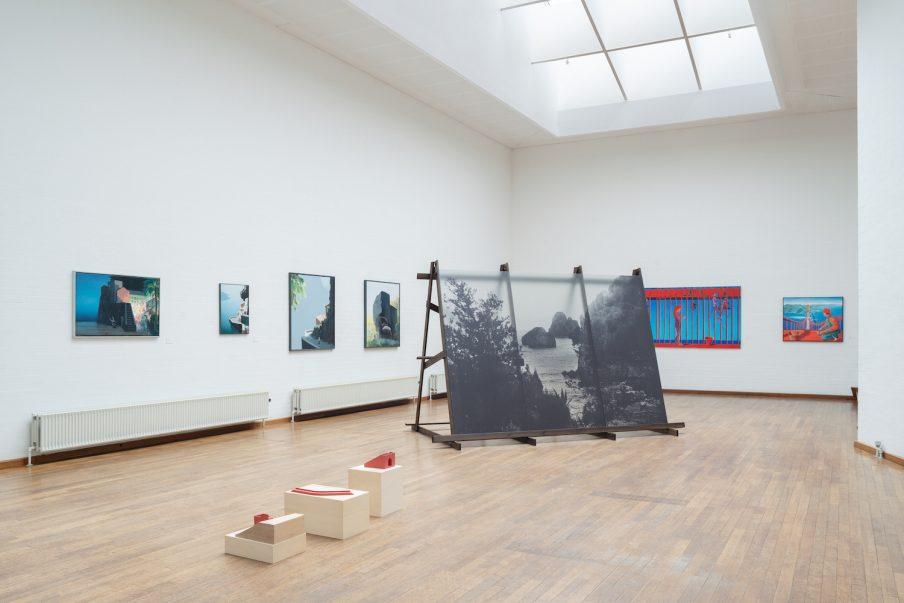 Billeder: Obstruktioner og forbindelser i Kunstbygningen i Vrå