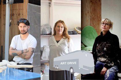 SKITSE inviterer på bustur til kunstnernes værksteder under Art Week