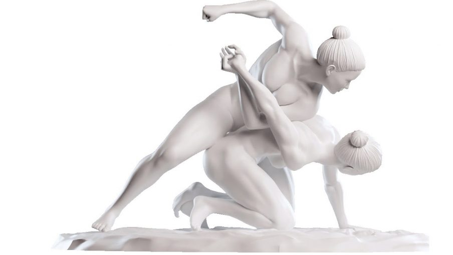 Ditte Ejlerskov laver offentlig skulptur – som du selv kan printe!