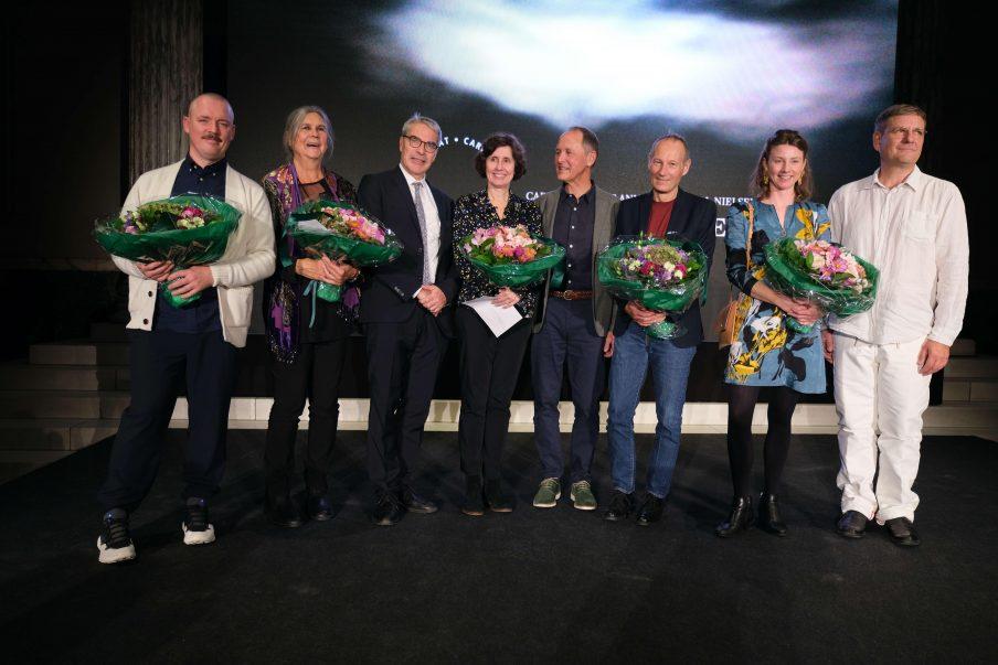 Seks kunstnere tildeles hæderspris