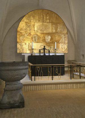Peter Brandes: Et gyldent alter til Nørre Nissum Kirke