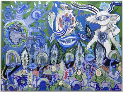 Ida Kvetny: Blue Brain Coral