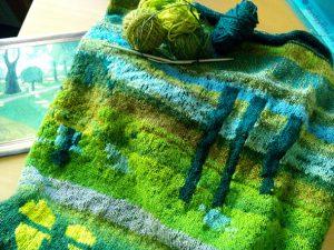 GEM'erne: Kunst i forening – en strikket udstilling