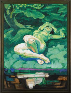 Hovedværker fra samlingen og andre kunstneres portrætter af Willumsen