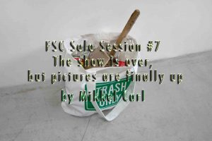 FSC – SOLO SESSION #7 – Mikkel Carl: The show is over, but the photos are finally up