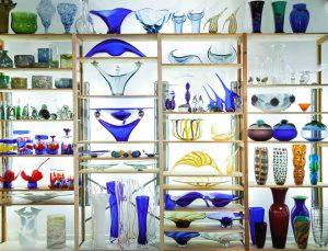 Sørens samling – glas fra Holmegaard