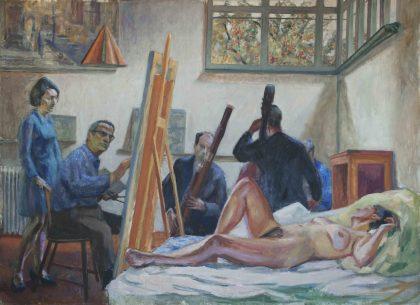 Victor Brockdorff: Maleriske fællesskaber