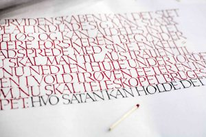 Kalligrafisk Lyrik – Bent Rohde