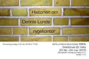 Niels Plenge: Historien om Dennis Lunds rygekontor