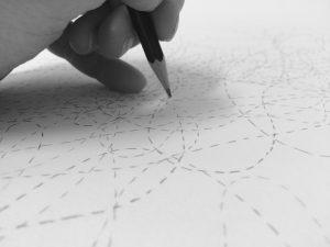 Laila Svensgaard: Writing Sound, One Hundred Drawings
