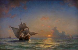 Mod fjerne horisonter. Anton Melbye – 200 år