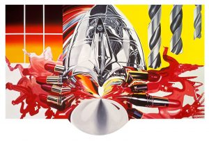 James Rosenquist: Painting as immersion – amerikansk popkunstner