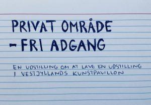 Privat område – Fri adgang