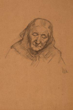 Svigermor: Michael Anchers tegninger af Ane Brøndum