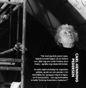 Carl-Henning Pedersen: Mellem himmel og jord