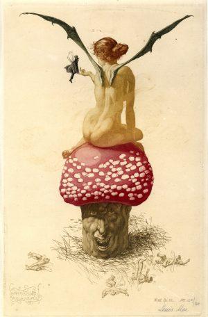 Langt, langt borte i skoven – tegninger og grafik af Louis Moe