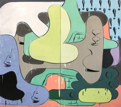 Morten Buch: New Paintings