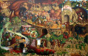 Wunderkammer – Tværsnit i museets samling: fra fossiler til samtidskunst