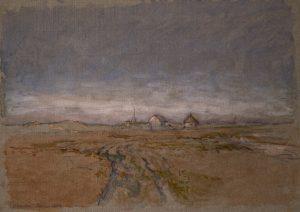 Viggo Johansens akvareller – Studier af landskaber