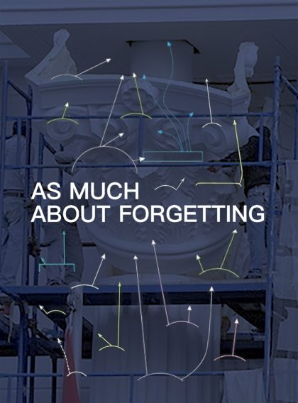 As Much About Forgetting