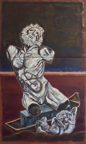 Morten B. Masri: Leaving Paintings