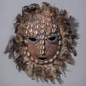 Vestafrikanske masker fra Poul Holm-Olsens samling