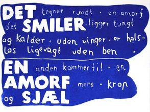 Toni Larsen: Linocuts og digttavler