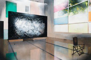 Toon Berghahn, The Modernist Studio, 82 x 122 cm, 2018. Pressefoto.