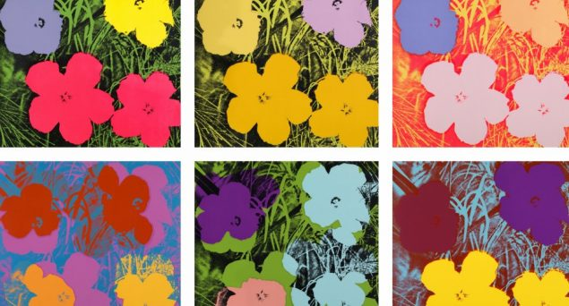 Andy Warhol. Pressefoto.
