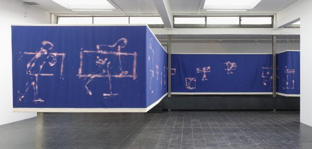 Ana Jotta, Fala-sò, 2017. Courtesy ProjecteSD, Barcelona Installationsbild: DAS – IST – DAS ?, 2018, Temporary Gallery, Cologne Foto: Simon Vogel.